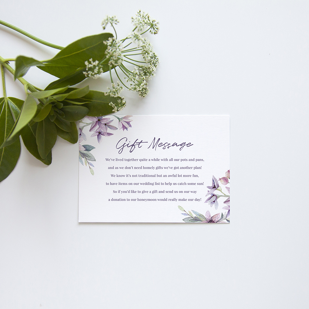 'Henrietta Dawn' Square Invite