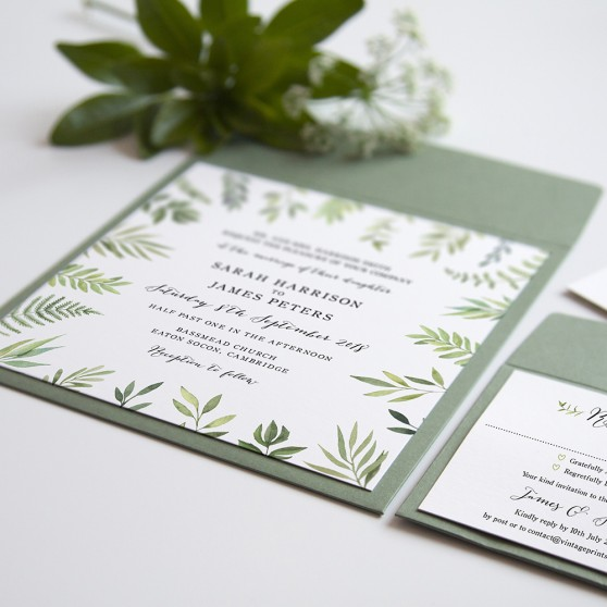 'Libby' Square Invite
