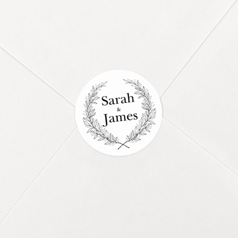 'Alice' Hole-punched Invite Sample