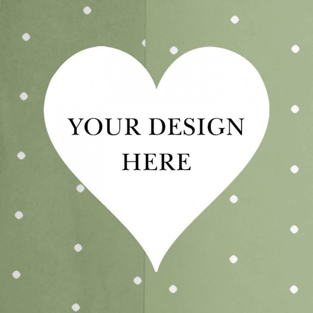 'Any Design' Tri Fold Wedding Invitation