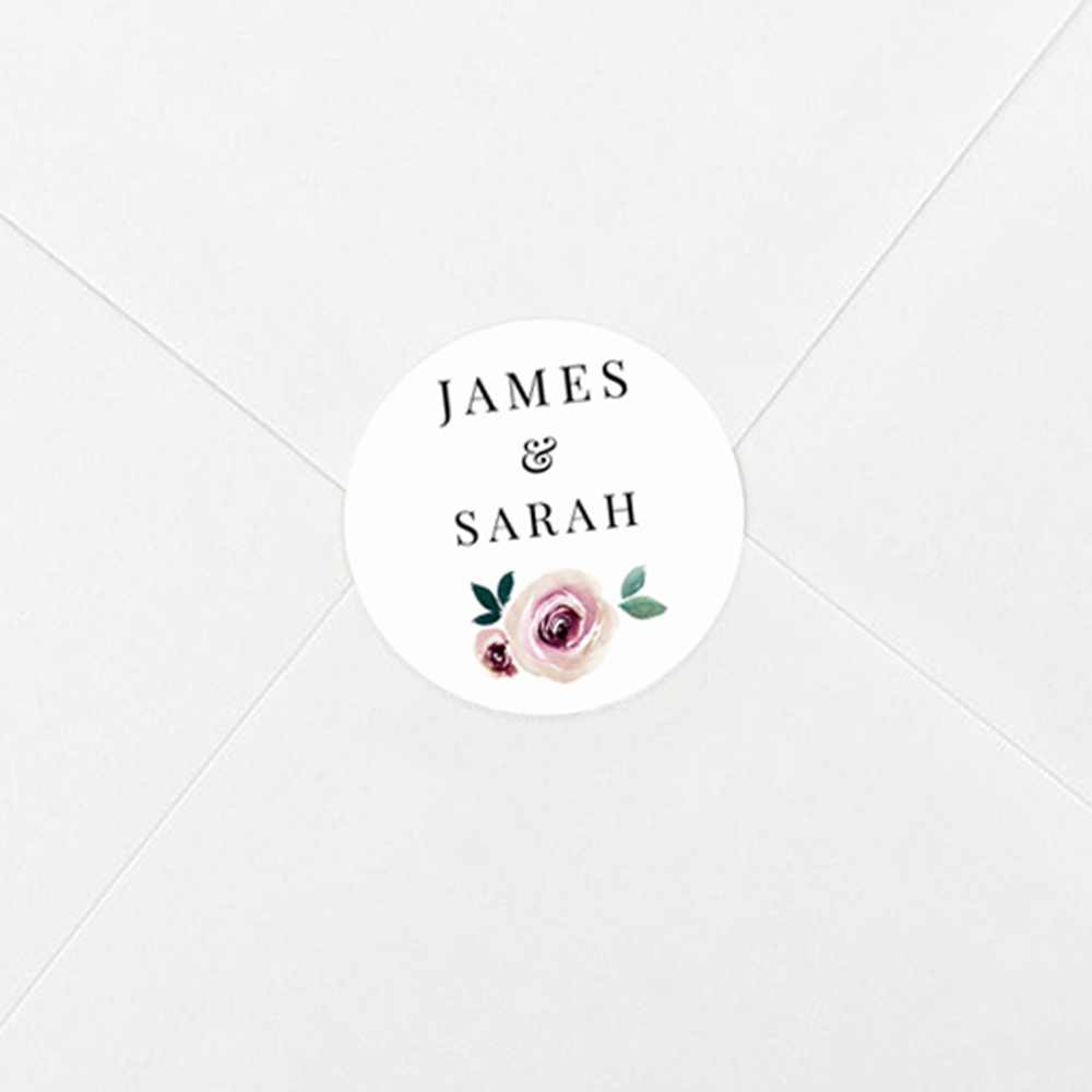 Pack of 'Camilla' Stickers