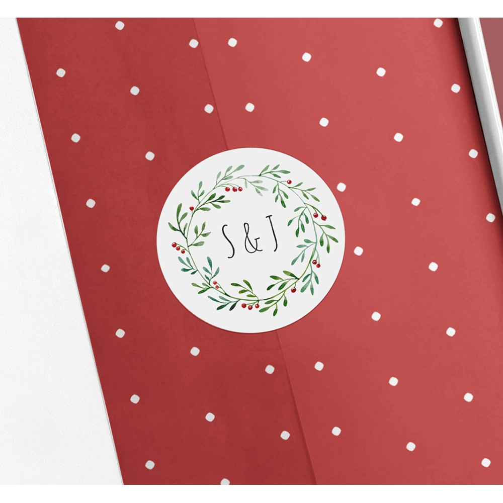 Pack of 'Christmas' Stickers