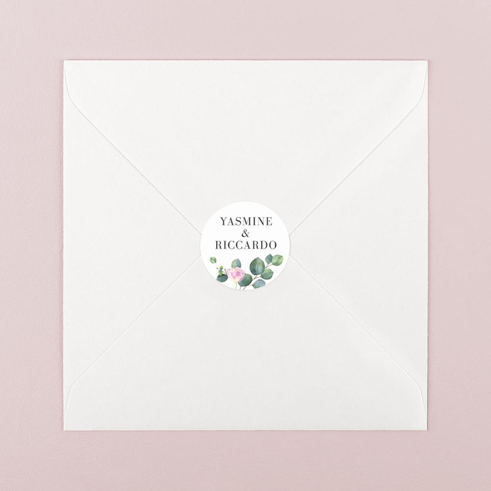 Pack of 'Eucalyptus Blush' Stickers