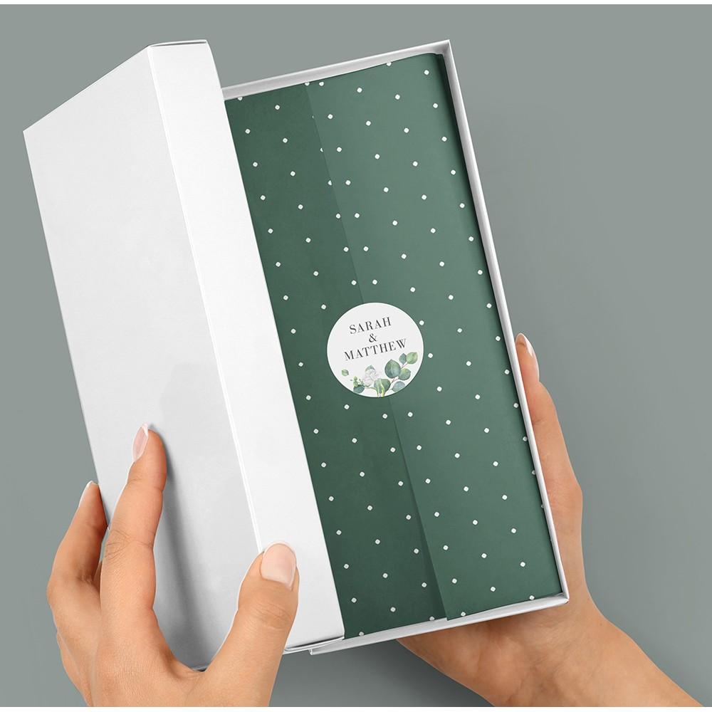 Pack of 'Eucalyptus White' Stickers