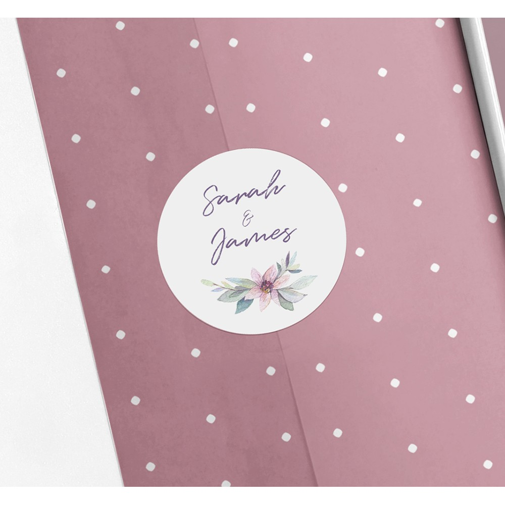 Pack of 'Henrietta Dawn' Stickers