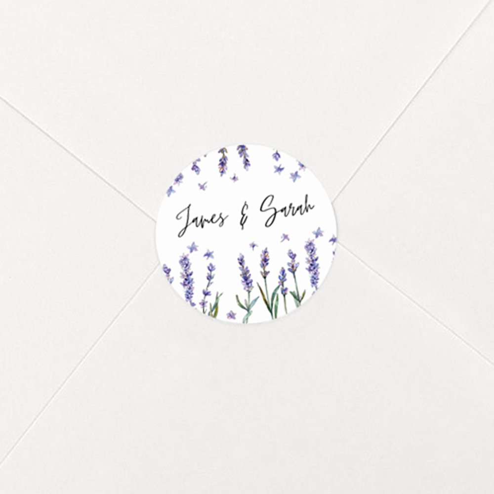 Pack of 'Lavender' Stickers