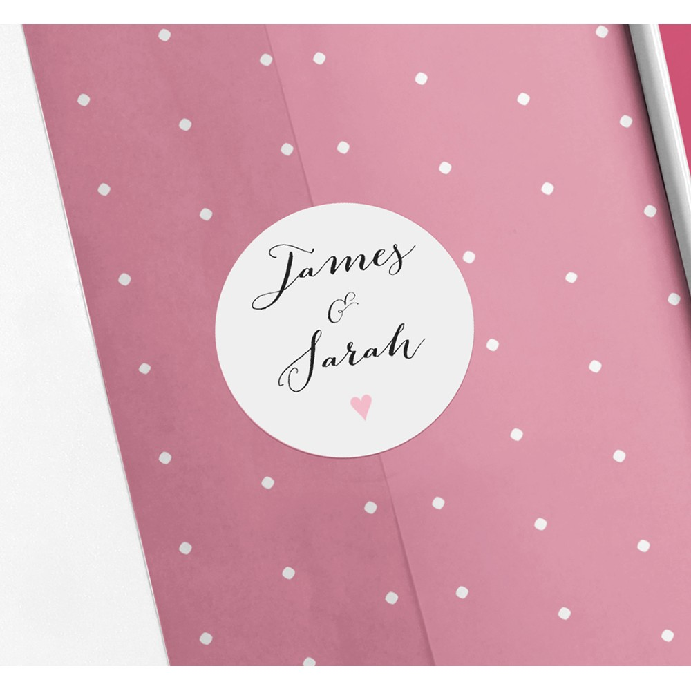 Pack of 'Pink Flag Bunting' Stickers