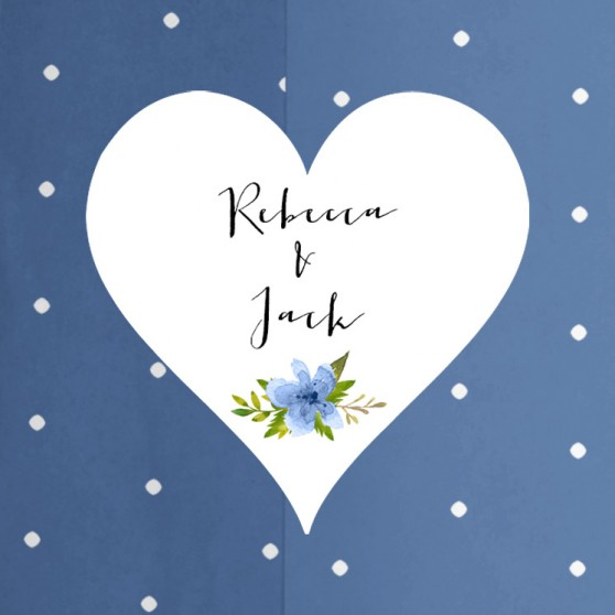 Pack of 'Pretty in Blue' Stickers