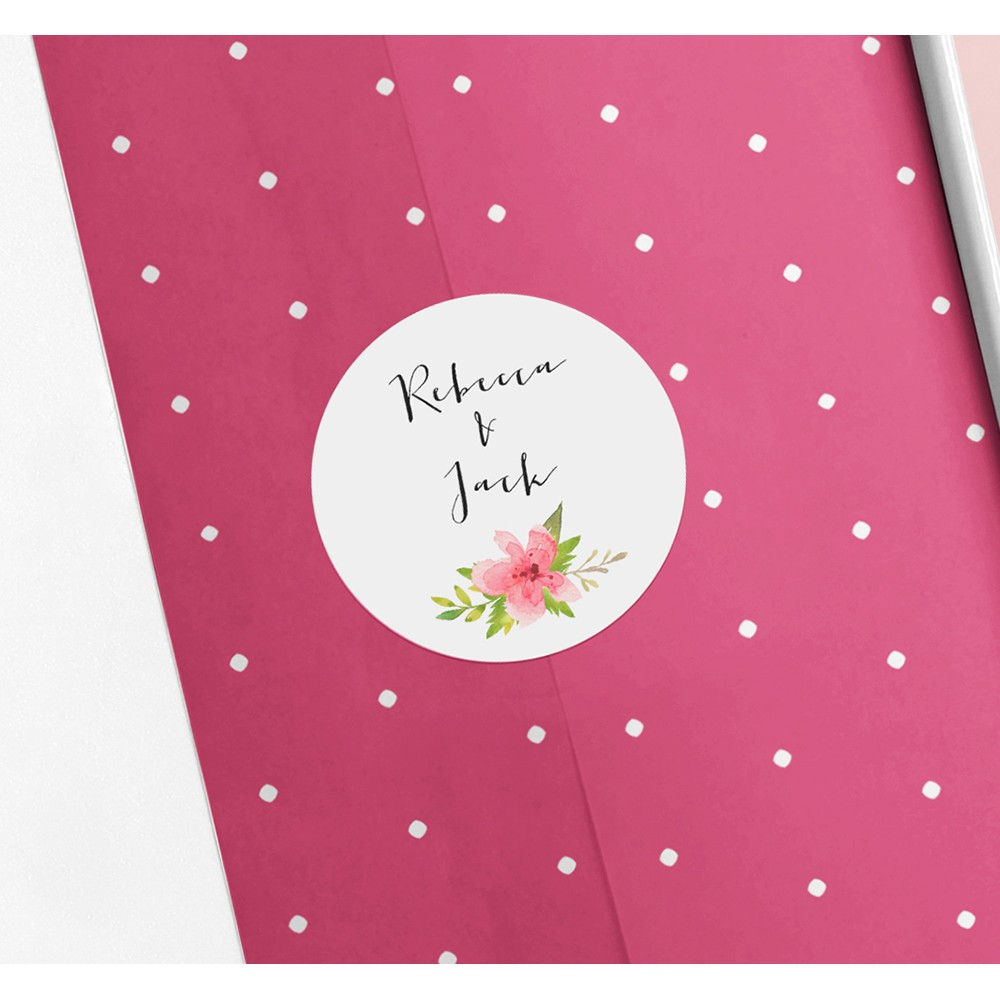Pack of 'Pretty in Pink' Stickers