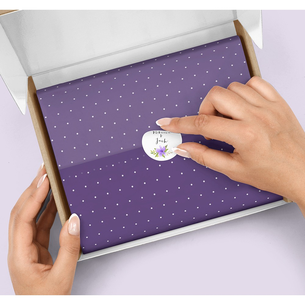 Pack of 'Pretty in Purple' Stickers