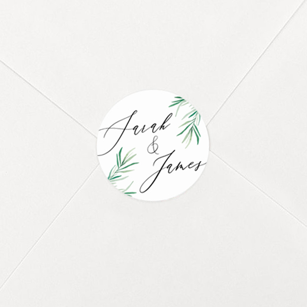 Pack of 'Willow Eucalyptus' Stickers