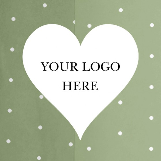 Pack of Custom 'Your Logo Here' Stickers