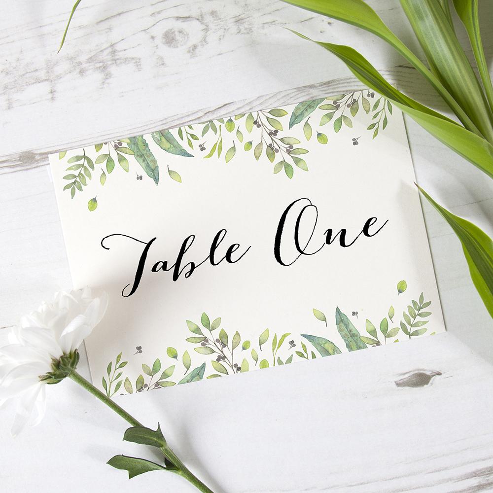 'Imogen Landscape' Table Name/Number