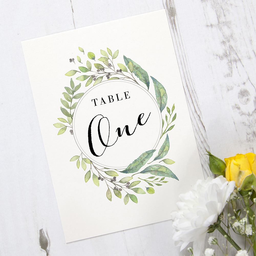 'Imogen Portrait' Table Name/Number