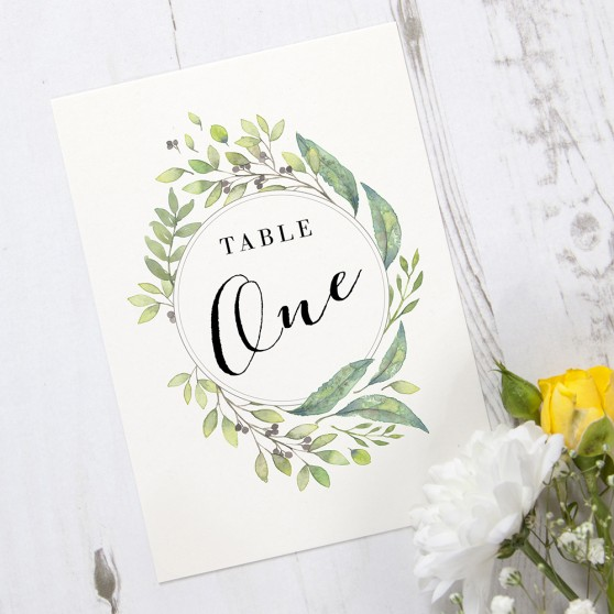 'Imogen Portrait' Table Name/Number
