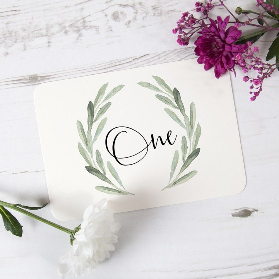 'Olive' Table Name/Number