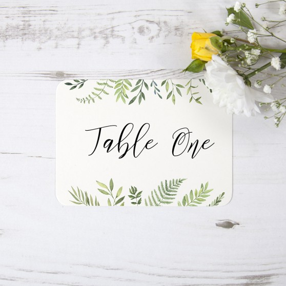 'Ophelia' Table Name/Number