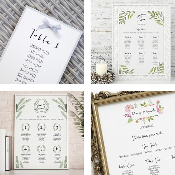 All Table Plans