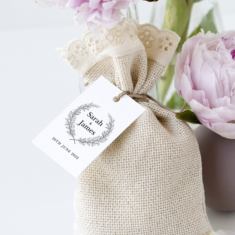 'Alice' Favour Tags