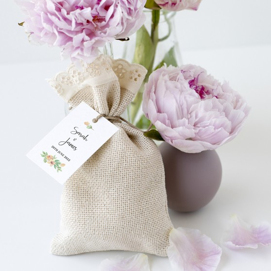 'Bella' Favour Tags