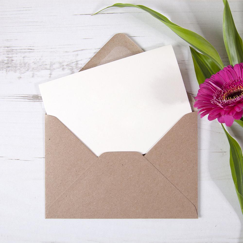 Custom 'ANY DESIGN' Folded Thank You Card
