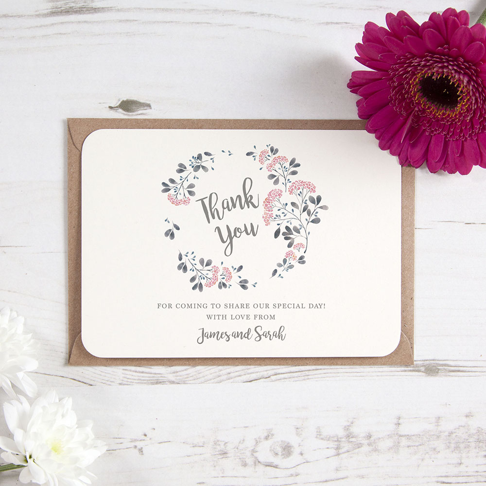 'Felicity' Standard Thank You Card