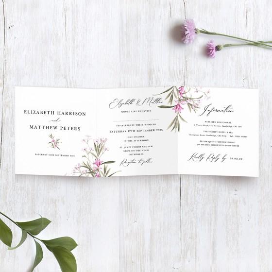 Tri-fold Invites
