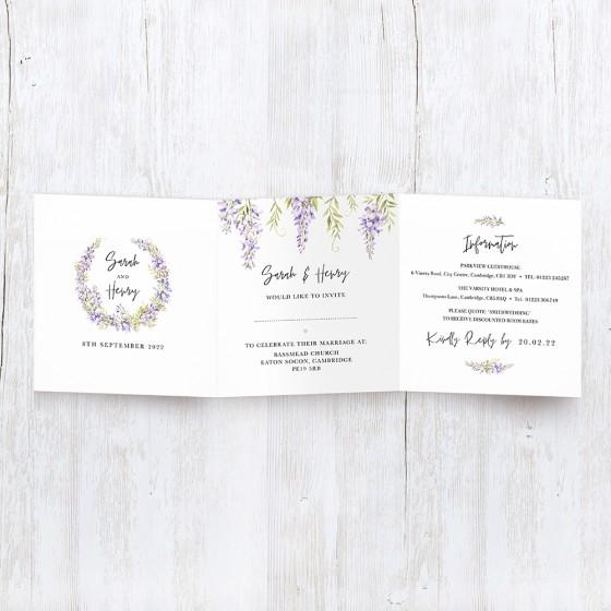 Tri-fold Invite Samples